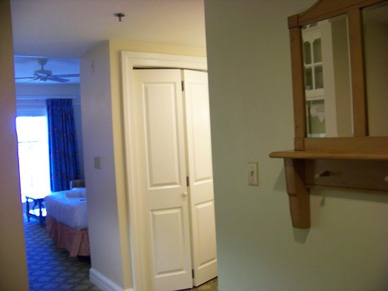 Disney's Beach Club Villas: Room view from front door