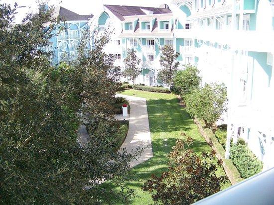 Disney's Beach Club Villas: View from room 445