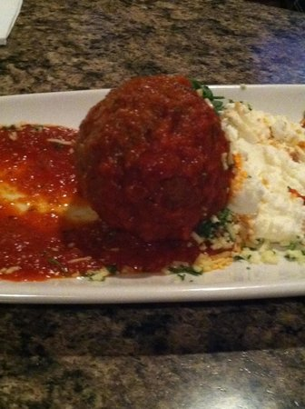 J. Anthony's Italian Grill: 1/2 of the meatball snack