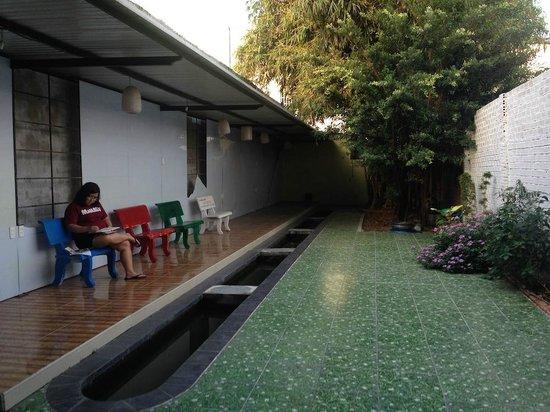 Nam Mon Hotel : Garden