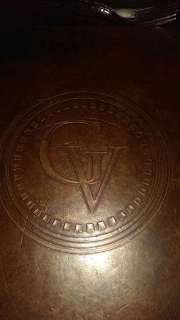 The Villas at Gervasi Vineyard : Back of bistro menu