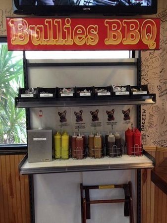 Bullies: Sauce Bar - 5 to Choose from!!