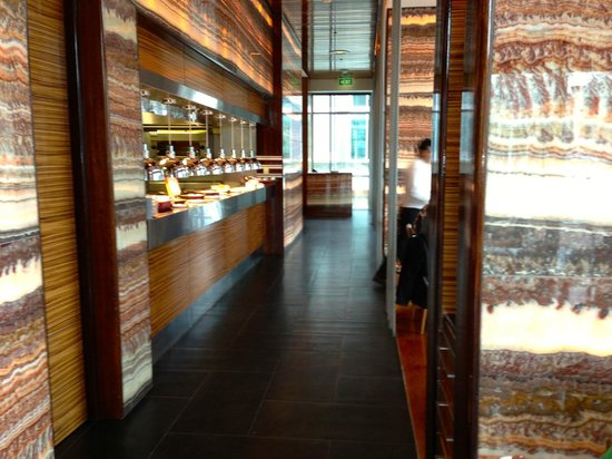 Sofitel Auckland Viaduct Harbour: Breakast Dining