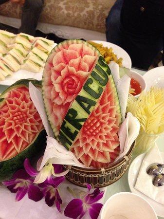 Hanoi Meracus Hotel 1: Christmas party watermelon