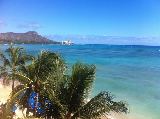 Outrigger Reef Waikiki Beach Resort: View from the room