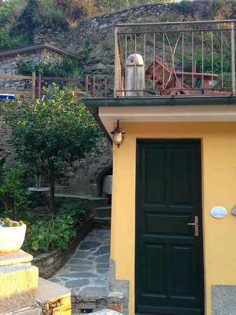 Camere Giuliano: Just part of beautiful little garden