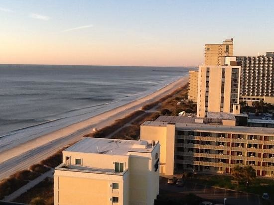 Hampton Inn & Suites Myrtle Beach/Oceanfront: a view from our. room on the 14th floor