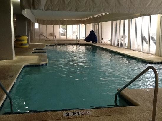 Hampton Inn & Suites Myrtle Beach/Oceanfront: one of the pools