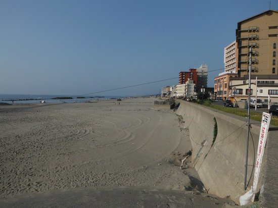 Yunohama Beach: 湯野浜海水浴場