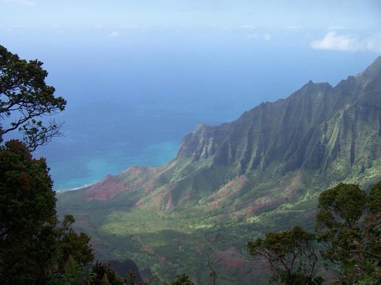 Koke'e Mountains : Kokee state park. Beautiful lookouts but have to hit it right because it rains a lot then all yo