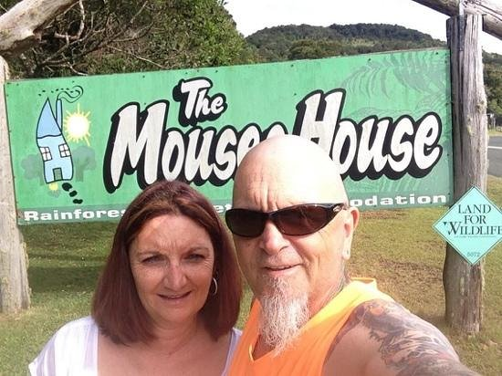 The Mouses House Rainforest Retreat : glad to be here!