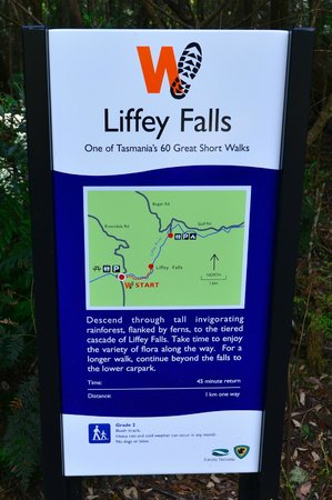 Liffey Falls: Thought this might help!