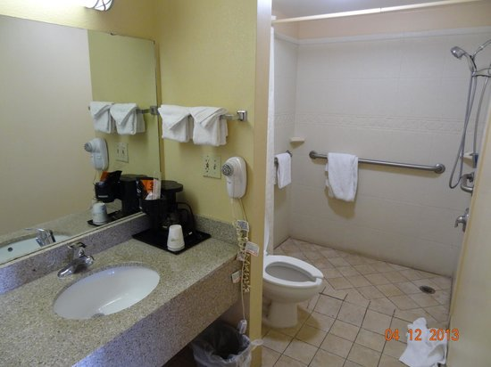 Howard Johnson Inn Airport Florida Mall: Quarto 110