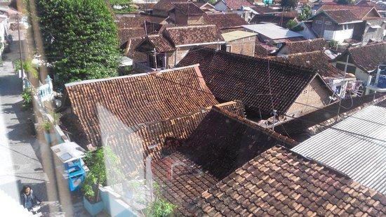 Hotel Arjuna : View of room 221