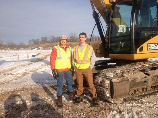 Extreme Sandbox : Winter with the excavator