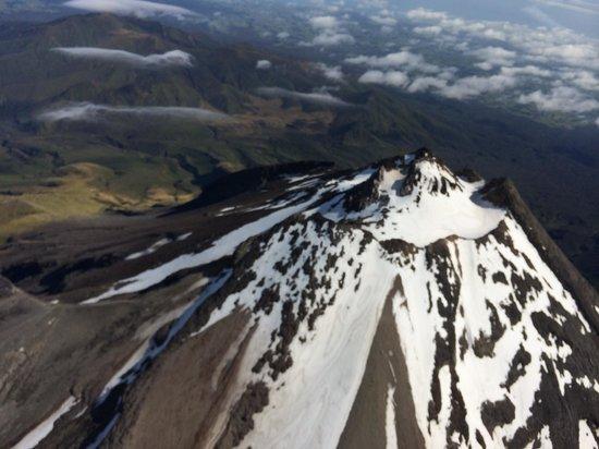 Heliview Flights: Mt Taranaki summit