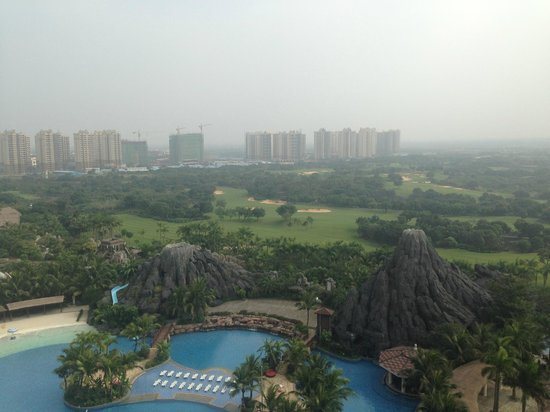 Mission Hills Resort Haikou: View from our room