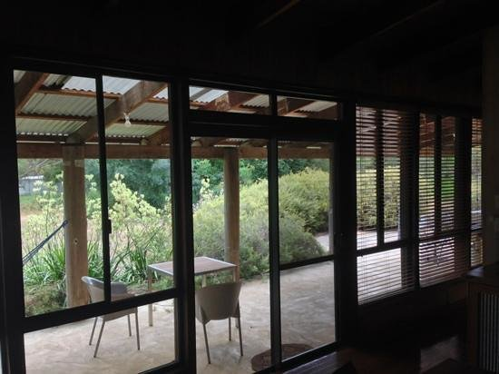 Burnside Organic Farm: verandah