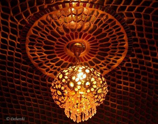 Nahargarh Haveli : Decor at the Hotel Reception area