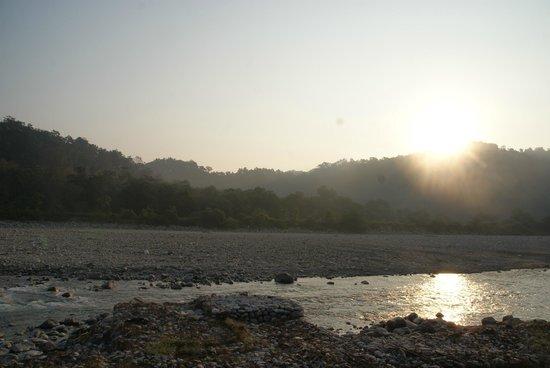 Club Mahindra - Corbett: River view with morning sub