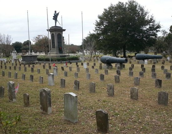 Magnolia Cemetery: Graves of Confederate soldiers killed at Gettysburg