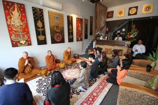 reception area picture of saradar thai massage art. Black Bedroom Furniture Sets. Home Design Ideas