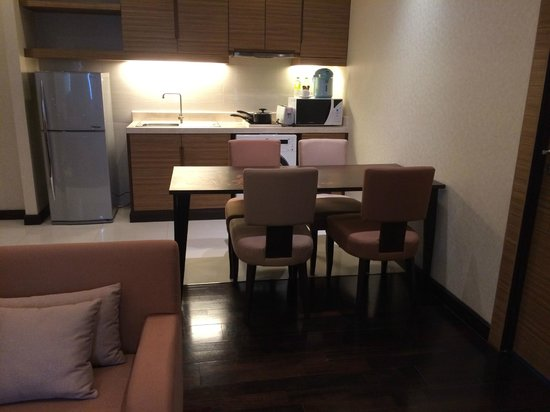 Jasmine Resort Hotel : 洗濯機も有り