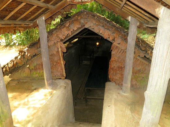 The Sinh Tourist Day Tours: bunker