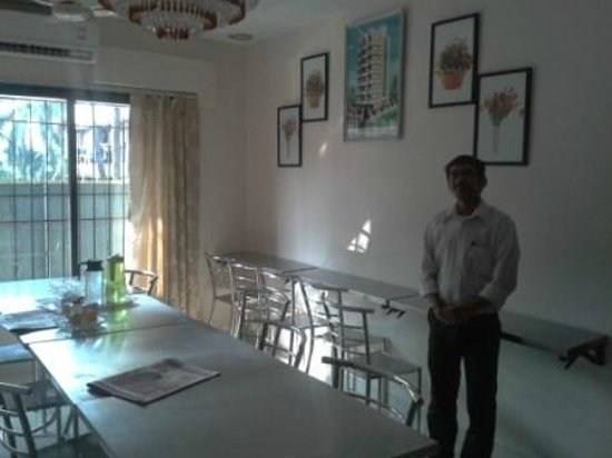 Daisy Residency: The dining area