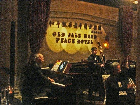 Fairmont Peace Hotel: the band