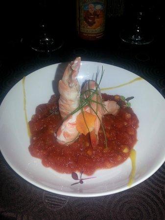 Eau Palm Beach Resort & Spa: Angle Shrimp