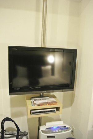 Hotel Active Hakata: TV with just Japanese channel