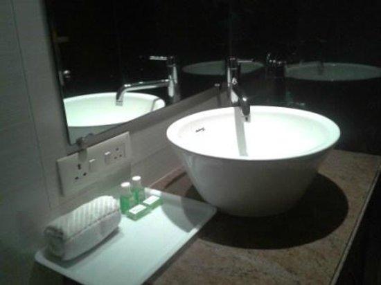 Pallavi Avida: Clean well equipped toilet