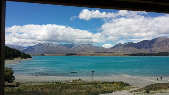 Lake Tekapo Motels & Holiday Park : View from our suite