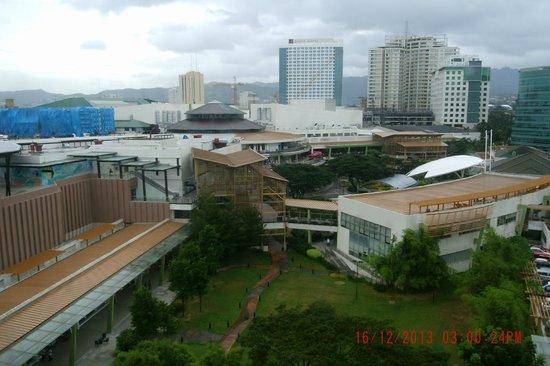 Cebu City Marriott Hotel: Ayala View from room