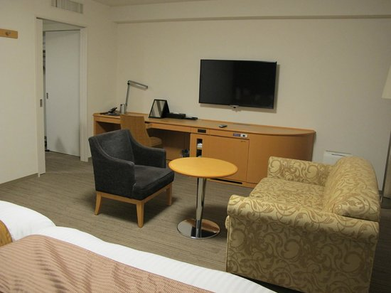 Richmond Hotel Yamagata-ekimae: Hollywood twin Room.