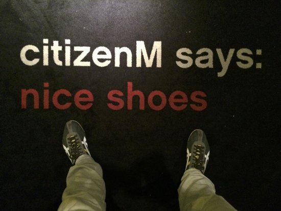 citizenM Schiphol Airport: As you walk in ...