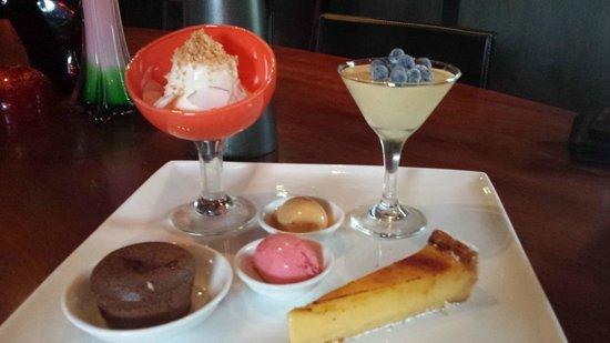 Marty @ Oakdene: Another perfect dessert from Oakdene Vineyard Restaurant
