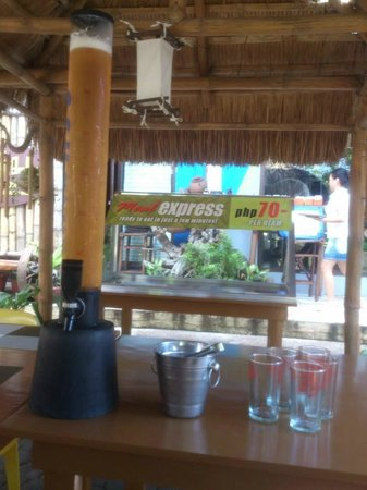 Kawayanan Grill Station: cold beer