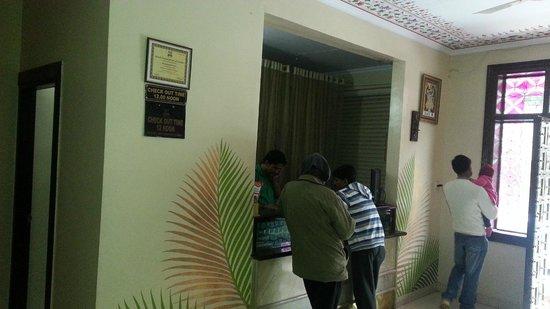Hotel Ramsingh Palace: Reception
