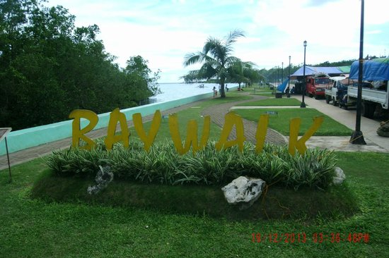 Camotes Islands, Philippinen: Baywalk
