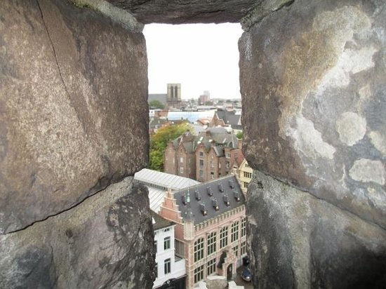 Gravensteen Castle : View from the top