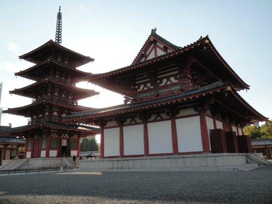 Shitennoji Temple: Both