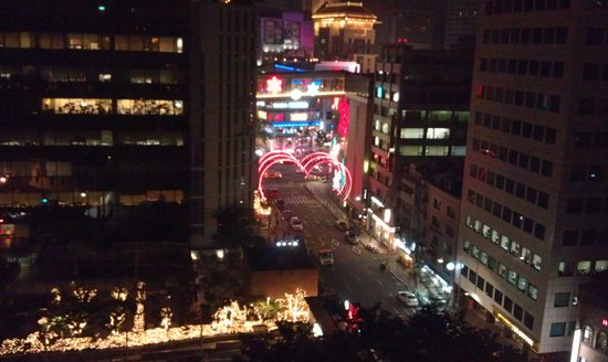 The Westin Chosun Seoul : View from my room