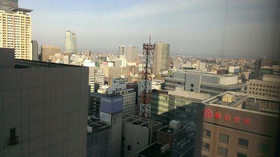 Hilton Nagoya : 左に見える建物が邪魔で、とても景色が悪い