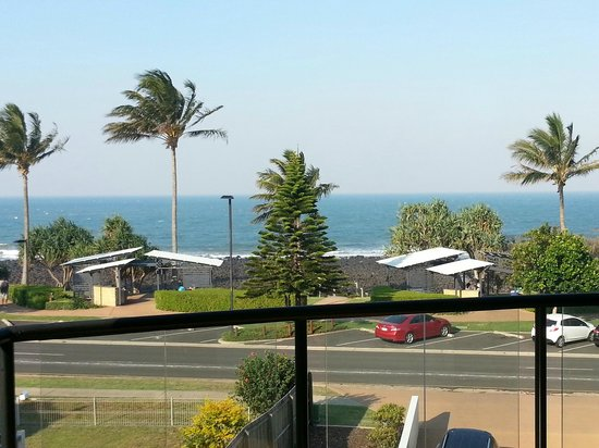 Kacy's Bargara Beach Motel Complex: View from the balcony
