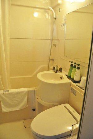 Dotonbori Hotel: bathroom