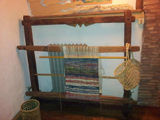 Bed & Breakfast Casa La Valle: Esempio di tessitura
