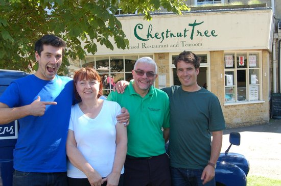 The Chestnut Tree : Bakers brothers filming for channel 4