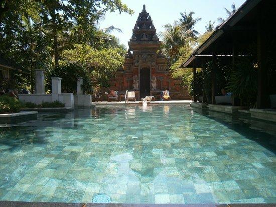 Bali Garden Beach Resort: Pool view